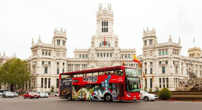 Bus Turistico Madrid